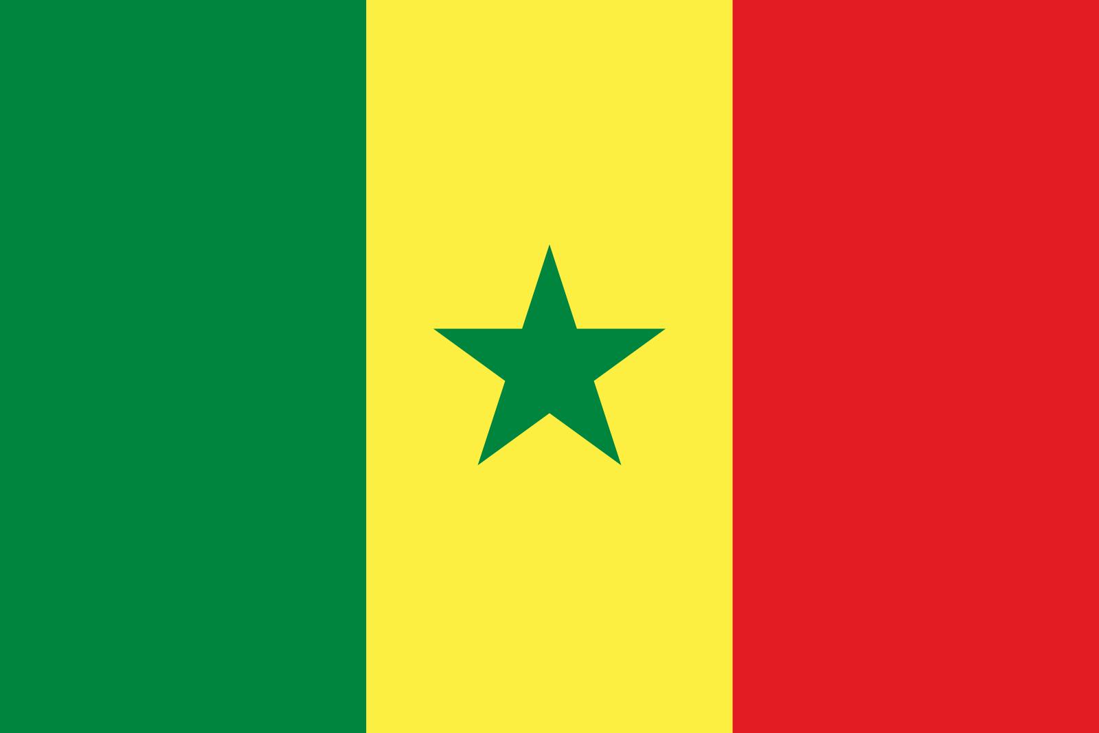 セネガル 国旗