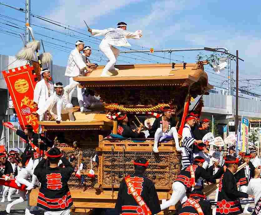 岸和田だんじり祭とは?歴史や由来