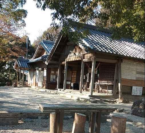 みずがめ座δ流星群の観測スポット東谷山の尾張戸神社