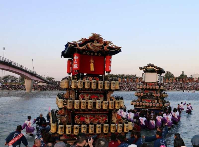 西条祭りの日程やスケジュール、歴史や川入りなどの見どころ