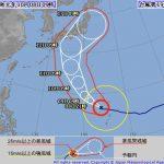 Windyで台風19号2019を分析!米軍欧州気象庁の最新進路で静岡上陸確実!